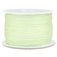 Macramé draad 0.5mm Light citrine green