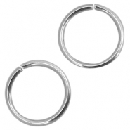 Roestvrij stalen (RVS) buigring stainless steel 5mm Zilver (RVS)