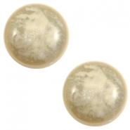 20 mm classic cabochon Polaris Elements Stardust Sand beige