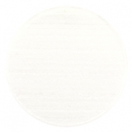 35 mm platte cabochon Polaris Elements Sparkle dust Ivory white