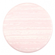 35 mm platte cabochon Polaris Elements Sparkle dust Licht roze