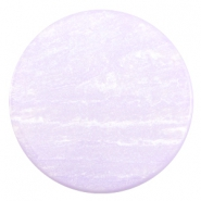 35 mm platte cabochon Polaris Elements Sparkle dust Lilac purple