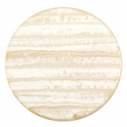 35 mm platte cabochon Polaris Elements Sparkle dust Almond brown