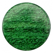 35 mm platte cabochon Polaris Elements Sparkle dust Classic green
