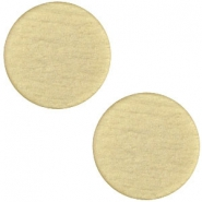 Polaris cabochon soft tone plat 12mm matt Khaki green