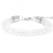 Crystal diamond armbanden 8mm Crystal aurore boreale