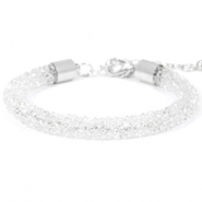 Crystal diamond armbanden 7mm Crystal