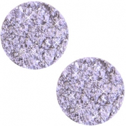 12 mm platte cabochon Polaris Elements Goldstein Violet lila