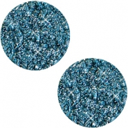 12 mm platte cabochon Polaris Elements Goldstein Mosaic blue