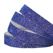Crystal glitter tape 10mm Indigo blue