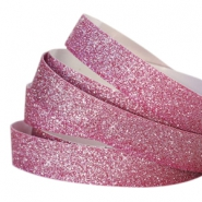 Crystal glitter tape 10mm Fuchsia