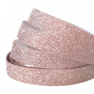 Crystal glitter tape 5mm Vintage rose