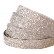 Crystal glitter tape 10mm Champagne beige