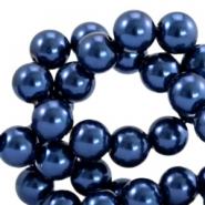Glasparels 10mm Dark blue