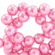 Glasparels 12mm Pink