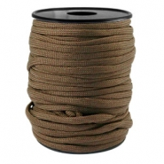 Trendy koord Paracord 4mm Dark brown