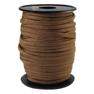 Trendy koord Paracord 4mm Dark bronze brown