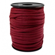Trendy koord Paracord 4mm Aubergine red