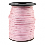 Trendy koord Paracord 4mm Licht roze