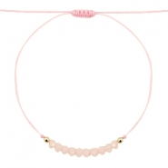 Trendy armbandjes Rose peach-goud