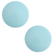 12 mm classic cabochon Polaris Elements Galastil Soft lagoon blue