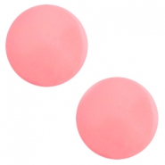 12 mm classic cabochon Polaris Elements Galastil Peachy coral pink