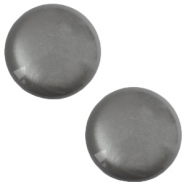 12 mm classic cabochon Polaris Elements soft tone shiny Silver night