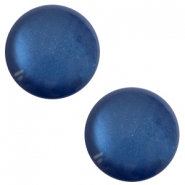 12 mm classic cabochon Polaris Elements soft tone shiny Radiant blue