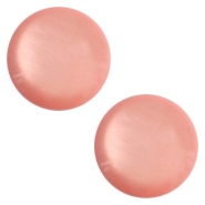 12 mm classic cabochon Polaris Elements soft tone shiny Canyon rose