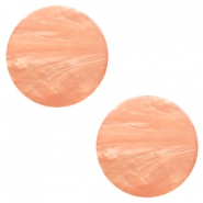 20 mm platte cabochon Polaris Elements Mosso shiny Light blush pink