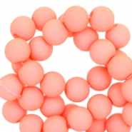 6 mm acryl kralen Coral peach orange