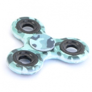 Fidget Hand Spinner army Blue