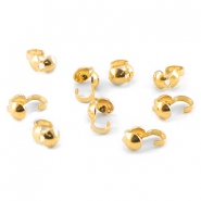 DQ kalotjes 4 mm Gold plated