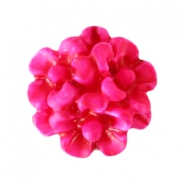 Bloemen kralen boeket 10mm Light fuchsia