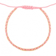 Minimalistische armbanden Light coral rose-gold