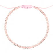 Minimalistische armbanden Light rose-silver