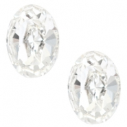 Swarovski Elements diverse vormen 4128-14x10mm oval Crystal