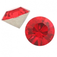 Swarovski Elements diverse vormen SS45 puntsteen (10mm) Light siam red