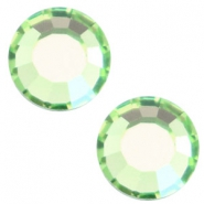 Swarovski Elements SS30 flat back (6.4mm) Peridot green