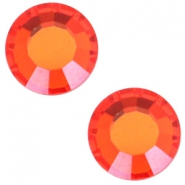 Swarovski Elements SS30 flat back (6.4mm) Hyacinth orange