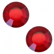 Swarovski Elements SS30 flat back (6.4mm) Siam red