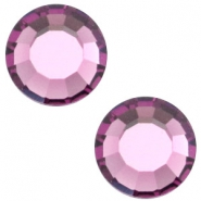 Swarovski Elements SS30 flat back (6.4mm) Amethyst purple