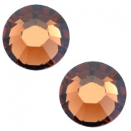 Swarovski Elements SS20 flat back (4.7mm) Smoked topaz