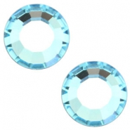 Swarovski Elements diverse vormen SS16 flat back (3.9mm) Aquamarine blue