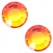Swarovski Elements SS20 flat back (4.7mm) Fire opal orange