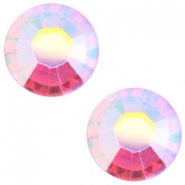 Swarovski Elements SS20 flat back (4.7mm) Light rose aurore boreale