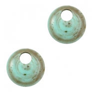 DQ acryl Polaris hangers 16mm rond Turquoise