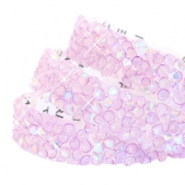 Crystal diamond tape 10mm Lilac purple diamond coating