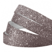 Crystal glitter tape 10mm Grey purple