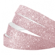 Crystal glitter tape 10mm Lilac pink